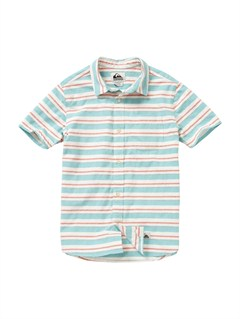 BLK0Boys 8- 6 Engineer Pat Short Sleeve Shirt by Quiksilver - FRT1