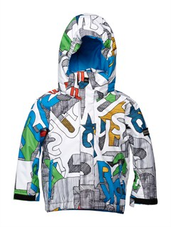 WBB1Little Mission 5K Insulated Jacket by Quiksilver - FRT1