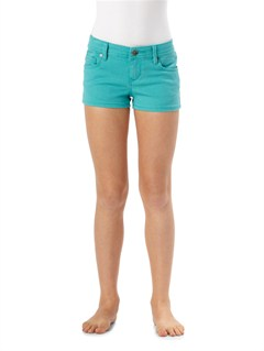 BLK0Girls 7- 4 Lisy Patch Short by Roxy - FRT1