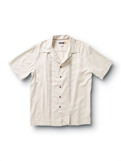 WHTMen s Deep Water Bay Short Sleeve Shirt by Quiksilver - FRT1