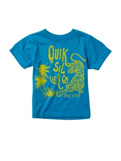BMJ0Boys 2-7 Checkers T-Shirt by Quiksilver - FRT1