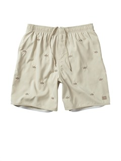 "TGG0Butt Logo  7"" Volley Boardshorts by Quiksilver - FRT1"