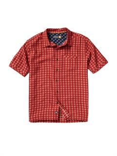 RQS0Men s Anahola Bay Short Sleeve Shirt by Quiksilver - FRT1