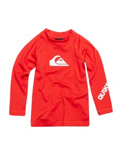 RQF0Boys 2-7 All Time LS Rashguard by Quiksilver - FRT1