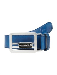 BTK0Sector Leather Belt by Quiksilver - FRT1