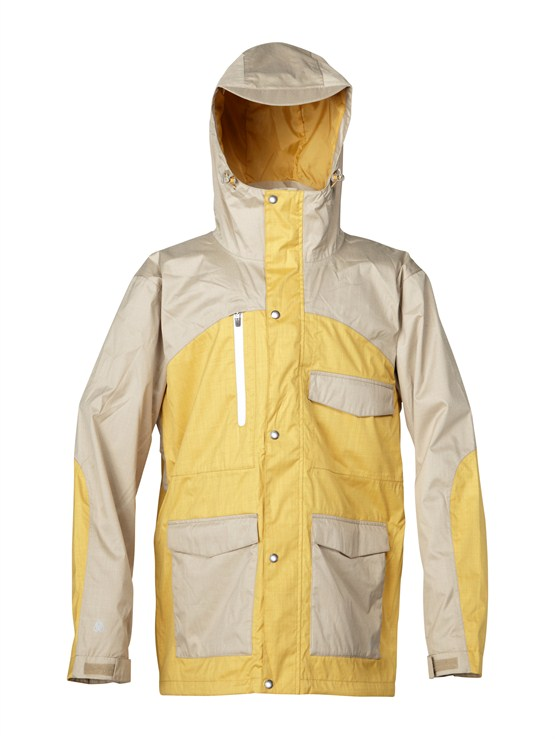 TKJ0Over And Out Gore-Tex Pro Shell Jacket by Quiksilver - FRT1