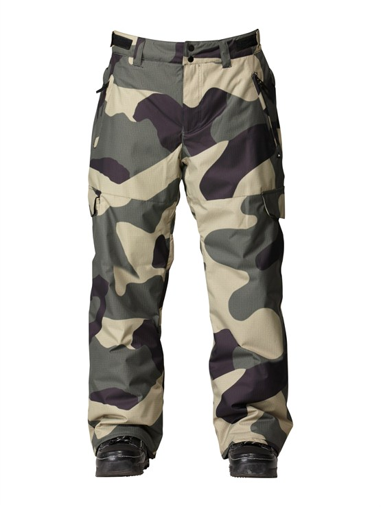 GZA1Dark And Stormy  5K Shell Pants by Quiksilver - FRT1