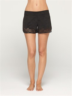 KVJ7Blaze Embroidered Cut Offs Jean Shorts by Roxy - FRT1