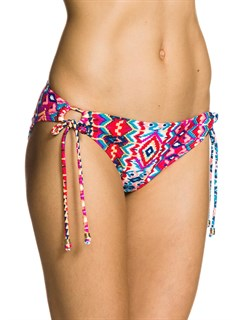 RQG6Essentials 70 s Lowrider Tie Side Bottoms by Roxy - FRT1