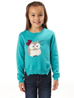 BLK0Girls 2-6 Wild Awake Sweater by Roxy - FRT1