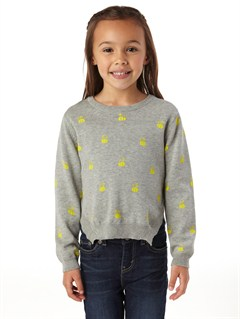 SGR6Girls 2-6 Heart Beat Sweater by Roxy - FRT1