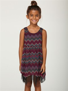 KPV6Girls 2-6 Block Party Dress by Roxy - FRT1