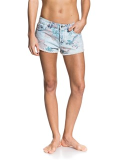BTN6Hearted Print Shorts by Roxy - FRT1
