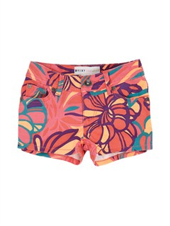 NHP6Girls 2-6 Teenie Wahine Lisy Print Shorts by Roxy - FRT1