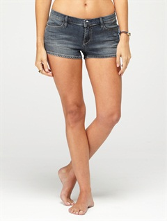 HWHBlaze Embroidered Cut Offs Jean Shorts by Roxy - FRT1