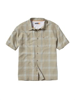 PLP0Men s Hazard Cove Long Sleeve Flannel Shirt by Quiksilver - FRT1