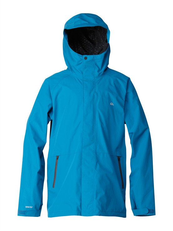 BRJ0Over And Out Gore-Tex Pro Shell Jacket by Quiksilver - FRT1
