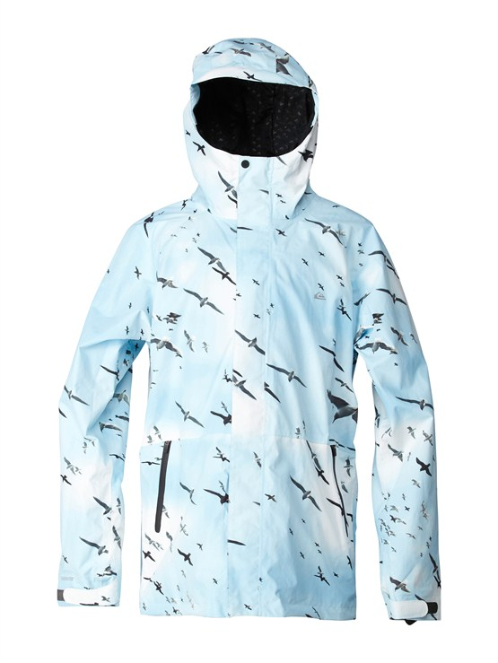 SJE7Over And Out Gore-Tex Pro Shell Jacket by Quiksilver - FRT1