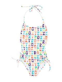 WBB7Girls 7- 4 Syncro 2MM SS Springsuit Back Zip by Roxy - FRT1