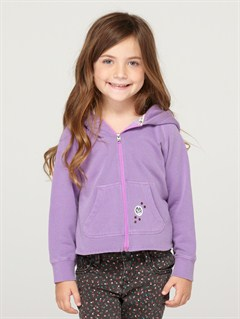 PKY0Girls 2-6 First Grade Hoodie by Roxy - FRT1