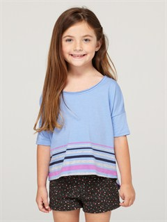 BJC3Girls 2-6 Sea Fever Long Sleeve Top by Roxy - FRT1