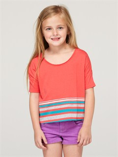 MLR3Girls 2-6 Calm Shore Top by Roxy - FRT1