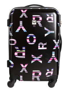 KVJ6Jungle Leaves Wheelie Bag by Roxy - FRT1