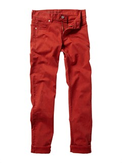 RQS0Boys 8- 6 Distortion Slim Pant by Quiksilver - FRT1