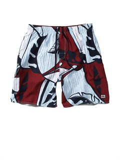 "RQS0Butt Logo  7"" Volley Boardshorts by Quiksilver - FRT1"