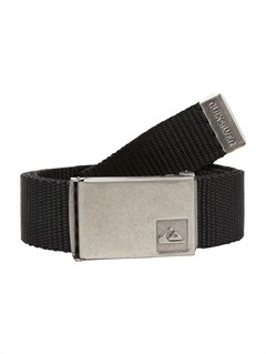 BLKSector Leather Belt by Quiksilver - FRT1