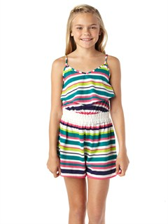 GRL3Girls 7- 4 Cherry Stone Romper by Roxy - FRT1