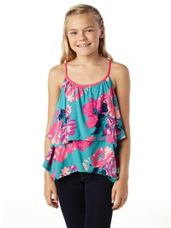 BLK6GIRLS 7- 4 COASTAL SAND TANK by Roxy - FRT1
