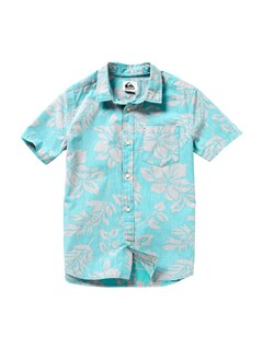 BLK6Boys 8- 6 Engineer Pat Short Sleeve Shirt by Quiksilver - FRT1