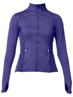 MIDGet Going Half Zip Jacket by Roxy - FRT1