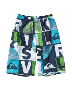BTK6BOYS 8- 6 A LITTLE TUDE BOARDSHORTS by Quiksilver - FRT1