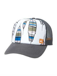 KTE0After Hours Trucker Hat by Quiksilver - FRT1