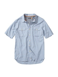 BHC0Men s Anahola Bay Short Sleeve Shirt by Quiksilver - FRT1