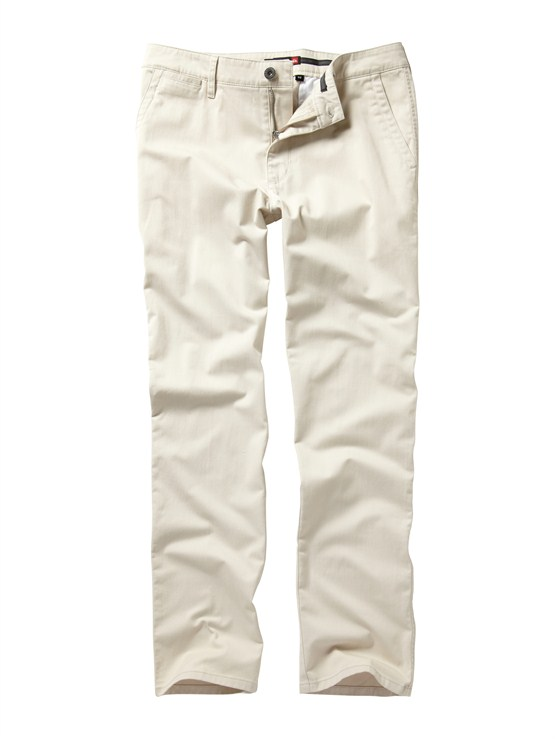 SEW0Class Act Chino Pants  32  Inseam by Quiksilver - FRT1
