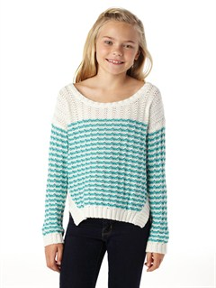 BLK4Girls 7- 4 Bay Water Sweater by Roxy - FRT1