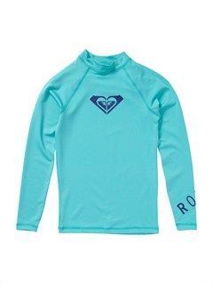 BJR0Girls 7- 4 Roxy Border Rashguard by Roxy - FRT1
