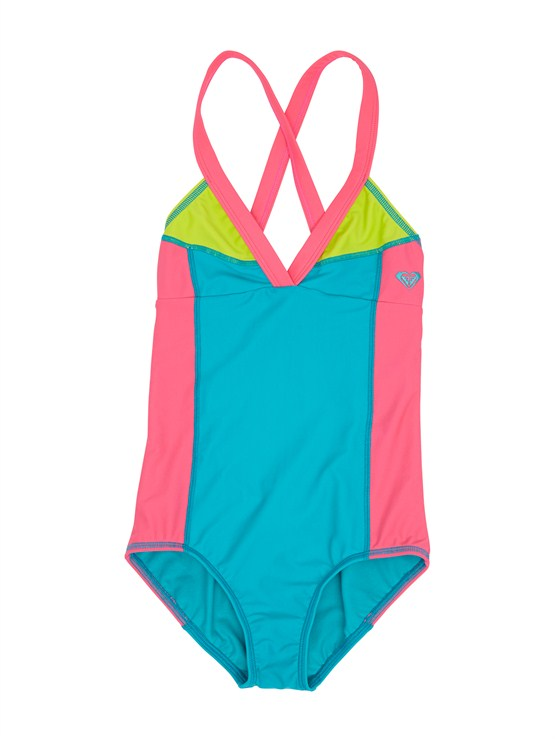 BNW0Girls 7- 4 Syncro 2MM SS Springsuit Back Zip by Roxy - FRT1