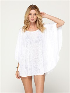 WHTStrappy Gauze Dress by Roxy - FRT1