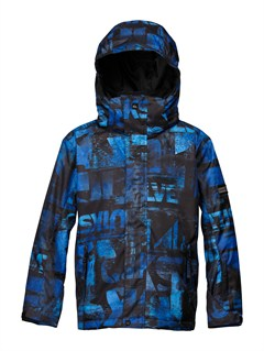 PRM3Mission  0K Youth Print Jacket by Quiksilver - FRT1