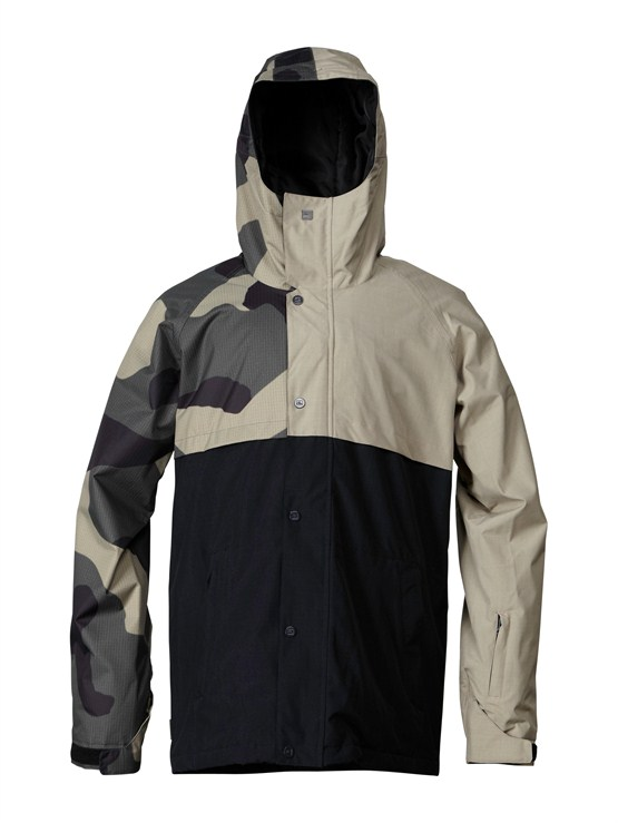 GZA1Over And Out Gore-Tex Pro Shell Jacket by Quiksilver - FRT1