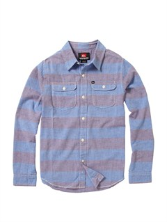 BQR3Boys 8- 6 Bam Bam Long Sleeve Flannel Shirt by Quiksilver - FRT1