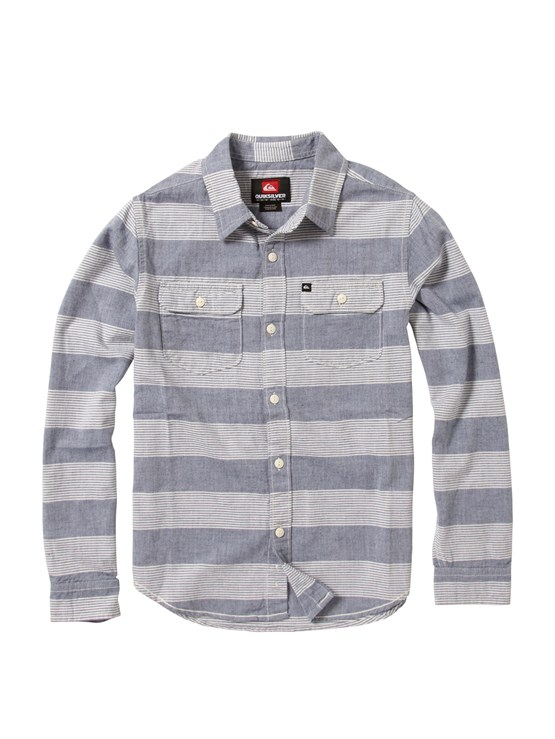 BTK3Boys 8- 6 Haano Short Sleeve Shirt by Quiksilver - FRT1