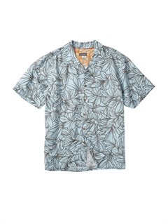 BFG0Men s Aganoa Bay Short Sleeve Shirt by Quiksilver - FRT1