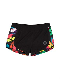 KVJ0Girls 7- 4 Little Beauty Endless Sun Boardshorts by Roxy - FRT1