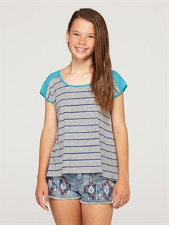 SGR3Girls 7- 4 Roxy Border Rashguard by Roxy - FRT1