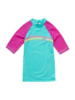 BJR0Girls 7- 4 High Light LS Rashguard by Roxy - FRT1